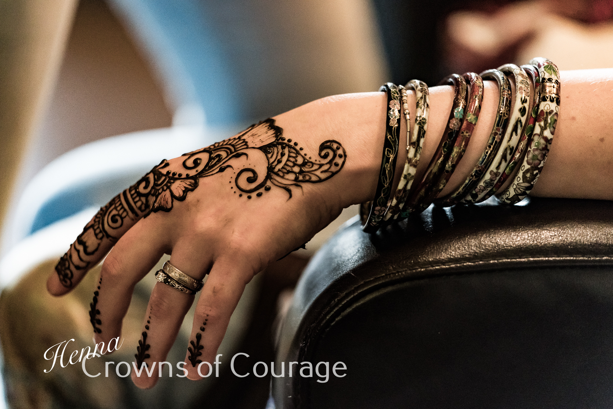 Angelique Slater - Henna Crowns of Courage